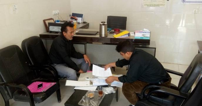 گزارش بازدید دوره ای کارگزاران شهرستان میناب