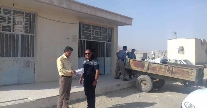 گزارش بازدید دوره ای شهرستان حاجی آباد