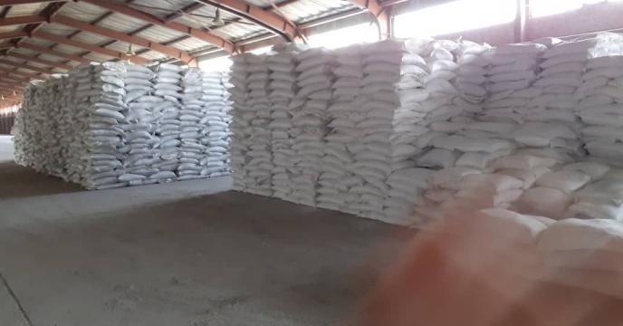 توزیع 10 تن کود شیمیایی سولفات پتاسیم در شهرستان آذرشهر