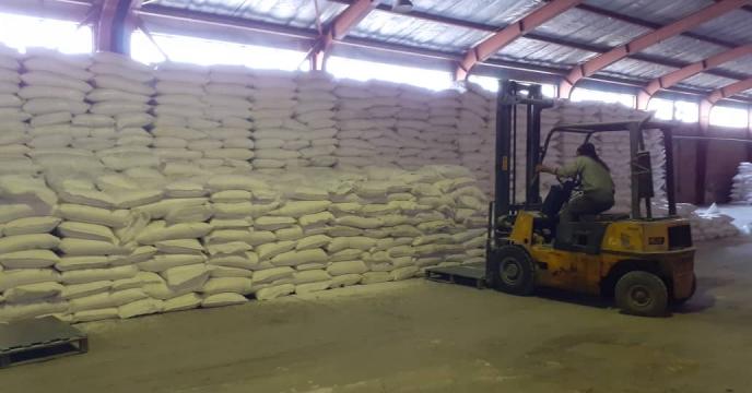 توزیع 110 تن کود شیمیایی کلرور پتاسیم پودری در استان آذربایجان شرقی