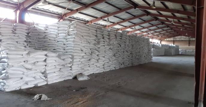 توزیع 35 تن کود شیمیایی سوپرفسفات تریپل در شهرستان میانه استان آذربایجان شرقی