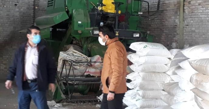 بازدید  اکیپ نظارتی کمیته توزیع کود استان از  کارگزاریهای  شهرستان  سراب