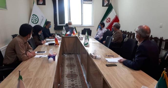 جلسه توجیهی پیمانکاران متقاضی شرکت در مناقصه امور حفاظت فیزیکی  استان آذربایجان شرقی
