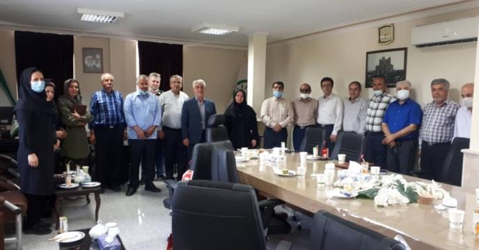 مراسم تجلیل از بازنشستگان استان آذربایجان شرقی