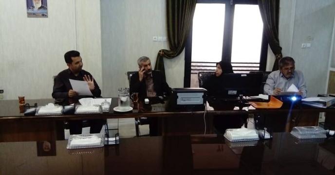 برگزاری جلسه مناقصه نیروهای حفاظتی فیزیکی استان فارس