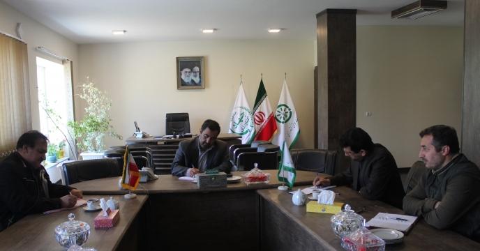 جلسه شورای معاونین مجتمع شیمیائی آبیک