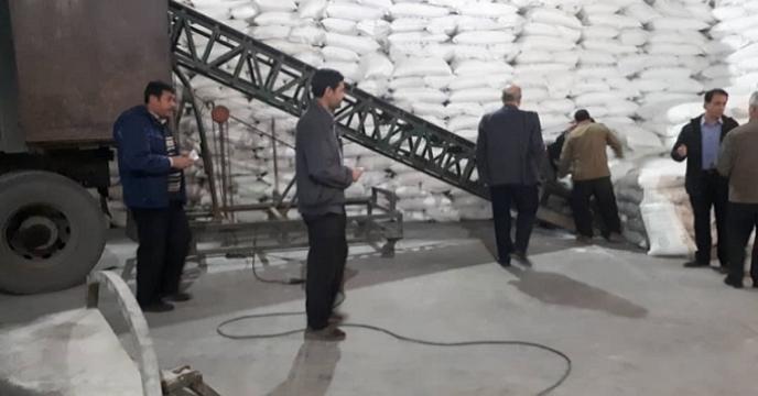 بازدید مدیر شرکت خدمات حمایتی از انبارهای سازمانی استان آذربایجان غربی
