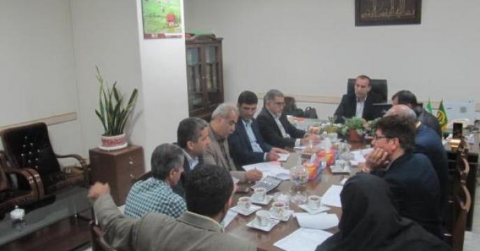 نشست ارزیابی عملکرد در استان مازندران