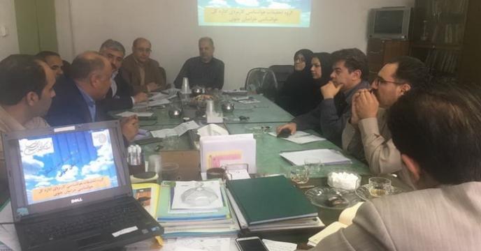 جلسه کمیته فنی پایش زراعت استان خراسان جنوبي