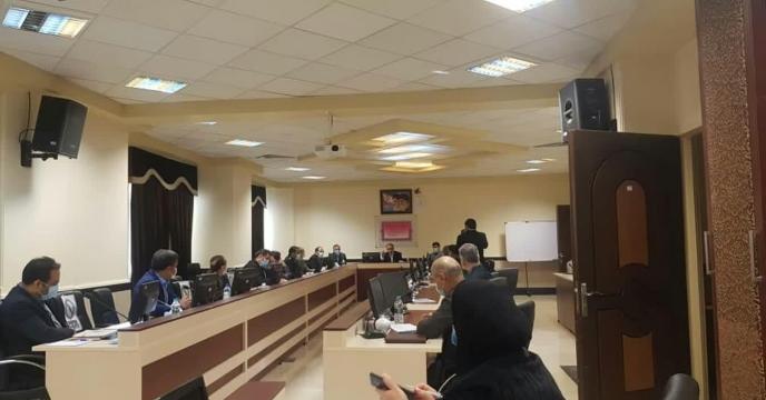 جلسه در رابطه با توزیع نهاده های کشاورزی - استانداری استان مرکزی - سوم اسفند ماه 1399