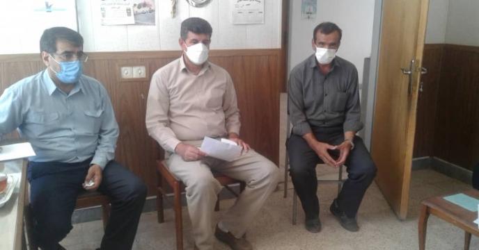 بازدید  اکیپ نظارتی کمیته توزیع کود استان از  کارگزاریهای  بخش دوزدوزان شهرستان  سراب