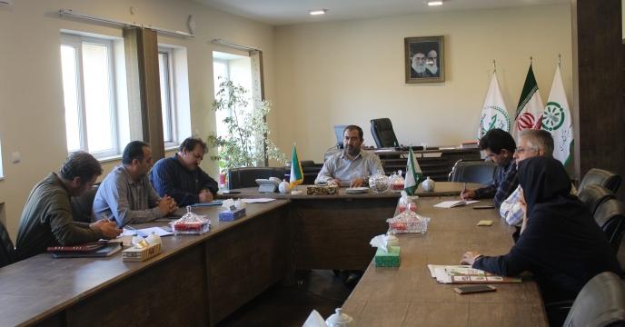 اولین جلسه کمیته فنی و بازرگانی مجتمع شیمیائی آبیک در مهرماه 98