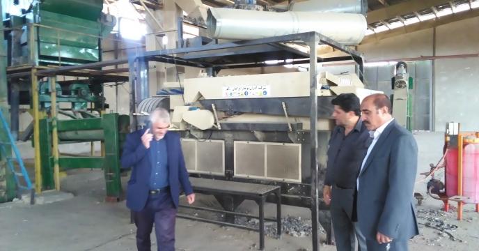 بازدید مدیر استان از عملیات  انتقال دستگاه بوجاری به استان یزد