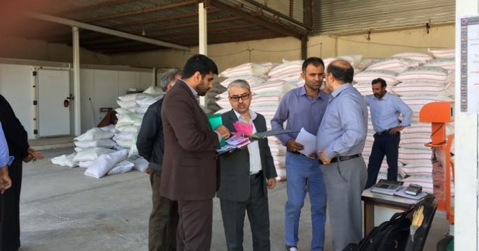 خبر بازدید از انبارهای کارگزاران در استان خراسان جنوبی