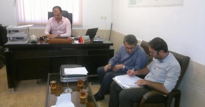 گزارش بازدید از کارگزاران شرکت خدمات حمایتی کشاورزی استان قم در شهریورماه 97