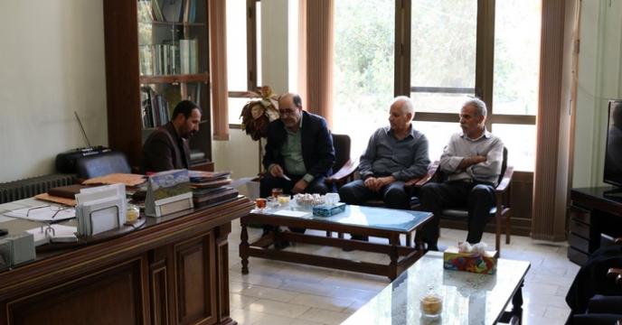 گزارش بازدید آقای مهندس منصوری از شرکت خدمات حمایتی کشاورزی استان چهارمحال و بختیاری