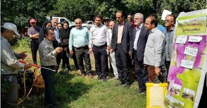 برگزاری دوره آموزشی کشاورزی در 78 روستای نوشهر استان  مازندران