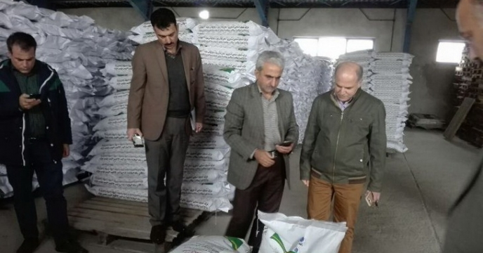 بازدید مدیر کل غلات وزارتخانه جناب آقای مهندس کریمی و هیئت همراه از سایت بذر برنج گیلان