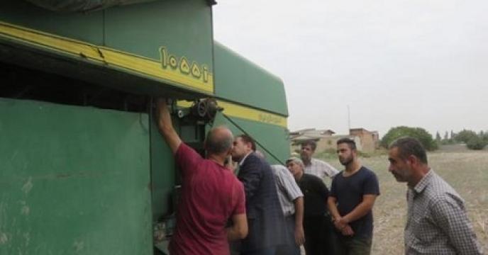 بازدید گروه فن آوری نوین وزارت جهادکشاورزی از بهشهر  استان مازندران