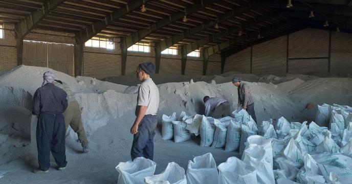 میزان عملیات کیسه گیری کودهای فله در  استان آذربایجان شرقی
