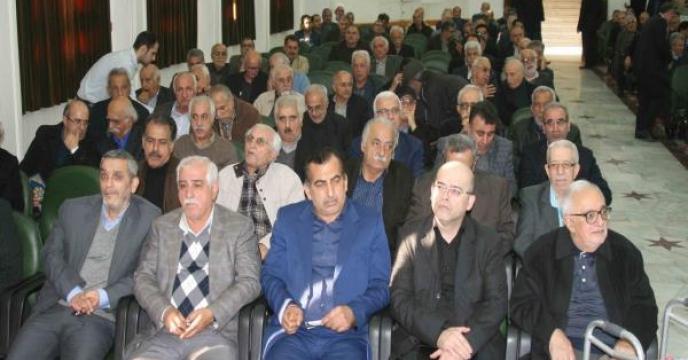 مراسم ترحیم مدیرعامل سابق شرکت بذر و نهال کشور در مازندران