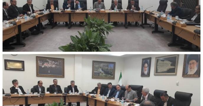 ملاقات  مشاور مدیر عامل و مدیر هماهنگی امور استانهای شرکت خدمات حمایتی کشاورزی با استاندار محترم گلستان