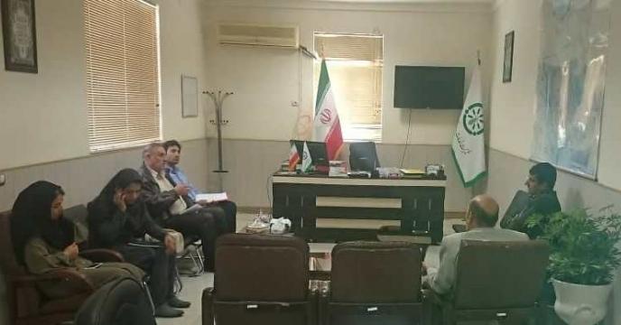 جلسه توجیهی با گروه پایش استان بوشهر