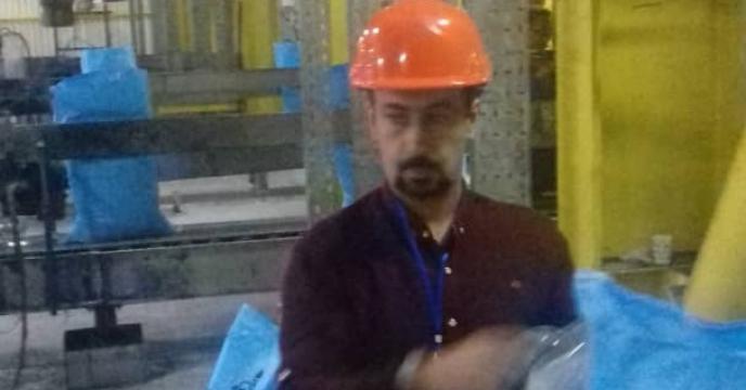 نمونه برداری از خط تولید کود اوره پتروشیمی شیراز