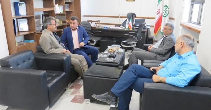 دیدار معاون بهبود تولیدات گیاهی با مدیر استان مازندران