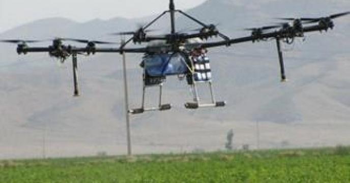 استفاده از پهباد در بخش کشاورزی مازندران