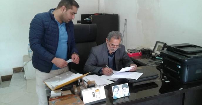 بازدید از کارگزاری کود در شهرستان گنبد گلستان