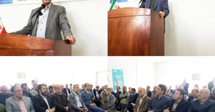 برگزاری مراسم افتتاح متمرکز پروژه های بخش کشاورزی استان گلستان بمناسبت هفته پدافند غیر عامل
