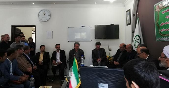 مراسم تکریم و معارفه سرپرست  شرکت خدمات حمایتی کشاورزی استان گلستان برگزار شد