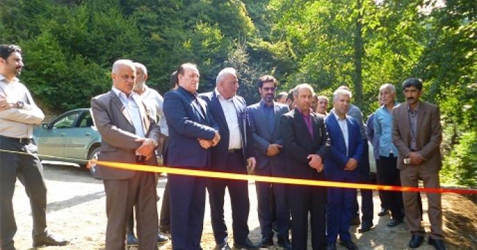 اجرای طرح آبرسانی کشاورزی در سوادکوه استان مازندران
