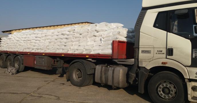 توزیع مقدار یک هزارو 500 تن کودهای ازته در شهرستان اردل