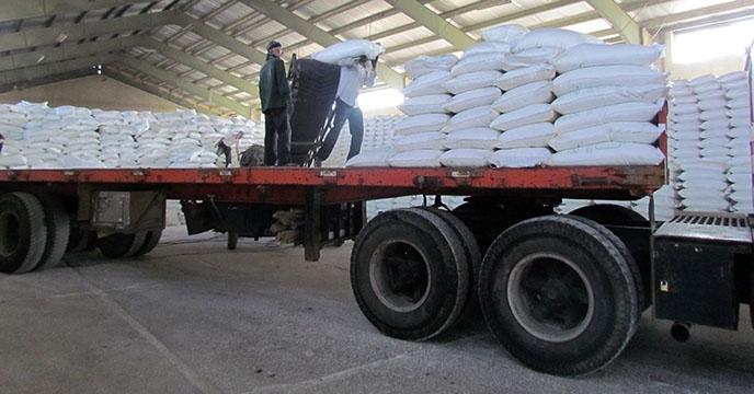 حمل و ارسال انواع کود شیمیایی در شهریورماه سالجاری برای کارگزاران شرکت خدمات حمایتی کشاورزی استان همدان در شهرستان فامنین