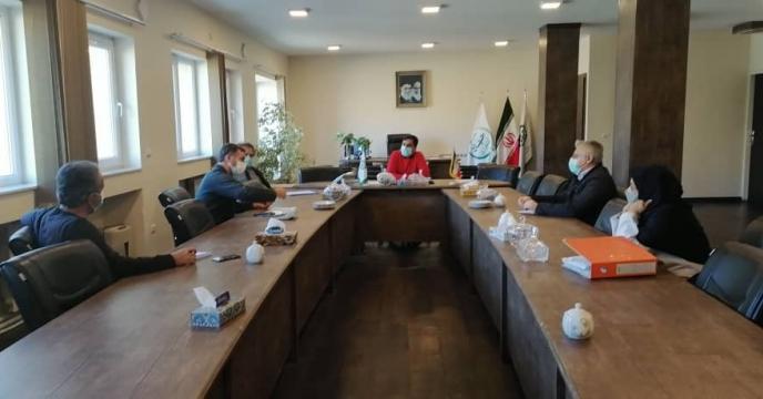 جلسه کمیته فنی بازرگانی مجتمع شیمیائی آبیک