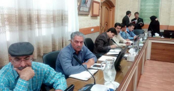 برگزاری جلسه کلزا در شرکت خدمات حمایتی کشاورزی استان فارس