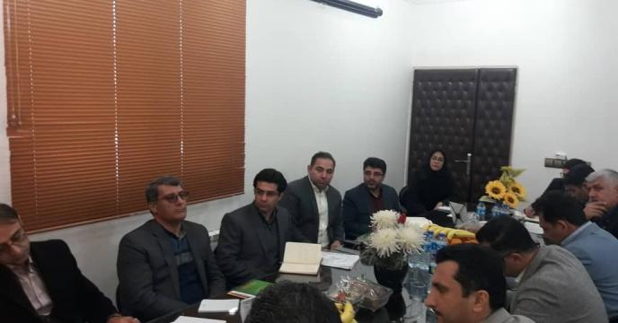 برگزاری  جلسه با بانک کشاورزی استان گلستان
