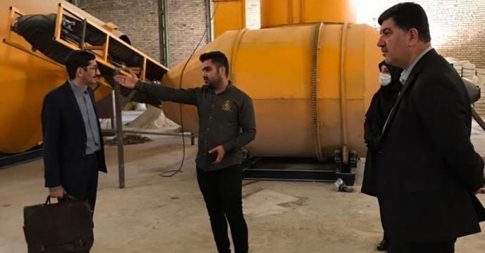 معر فی سه کارخانه کود داخل استان تولید  کننده کود های غیر یارانه ای جهت عقد تفاهم نامه با شرکت خدمات حمایتی کشاورزی کشور