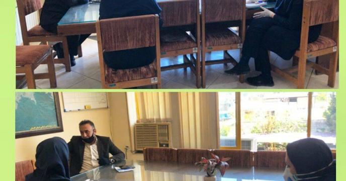 برگزاری  جلسه در مدیریت جهادکشاورزی گرگان با حضور معاون بهبود تولیدات گیاهی  سازمان جهادکشاورزی استان گلستان