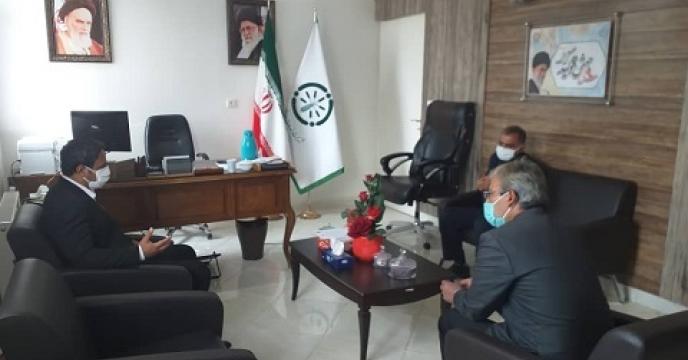 جلسه پیرامون تامین وتوزیع کود در استان سمنان