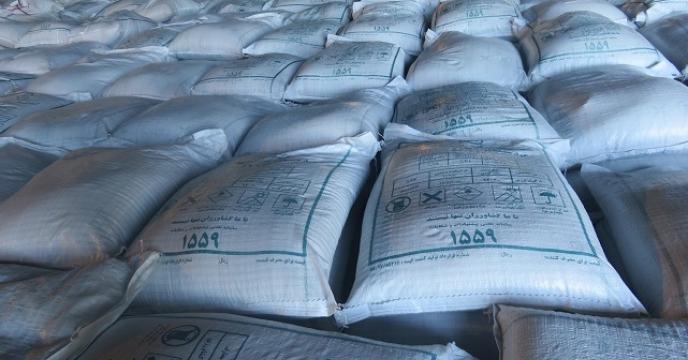 توزیع مستقیم 26 تن کود فسفات آمونیوم در ساری