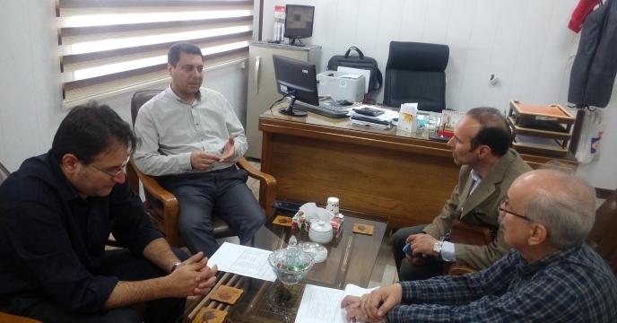 حضور نمایندگان طرح و برنامه دفتر مرکزی در استان قم