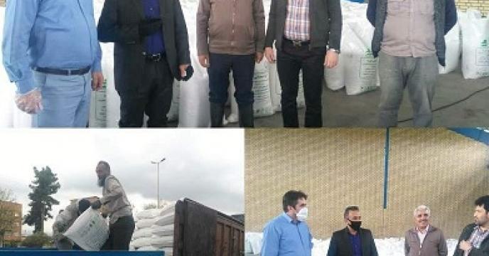بازدید معاون بهبود تولیدات گیاهی سازمان جهاد  کشاورزی گلستان از کارگزاری های  کود  درشهرستان علی آباد و گرگان گلستان
