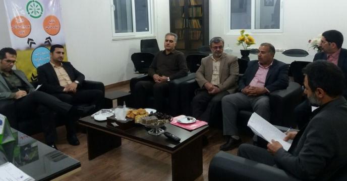 تشکیل جلسه با اهداف راهبردی و عملیاتی در اجرای حمل و نقل نهاده های کشاورزی در گلستان