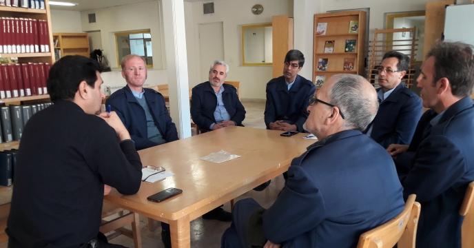 جلسه ی کادر حفاظت فیزیکی مرکز تحقیقات کاربردی نهاده های کشاورزی برگزار شد.
