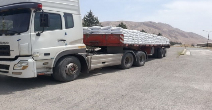 حمل انواع نهاده کشاورزی در استان خراسان جنوبی