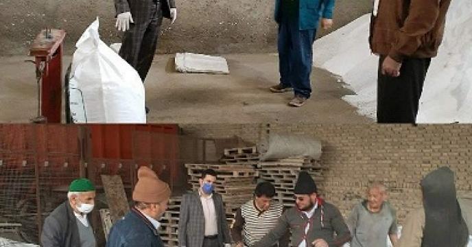بازدید و نظارت مستمر مسئول حراست و اداره بازرگانی شرکت خدمات حمایتی کشاورزی استان گلستان از کارگزاری های توزیع کود