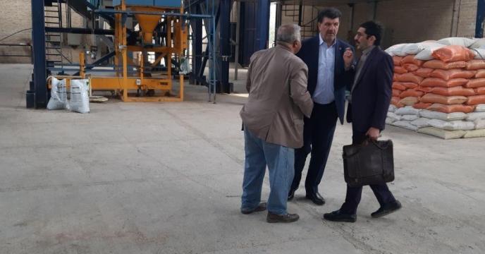 بازدید از واحد تولیدی کود مرغ گرانول گلستان